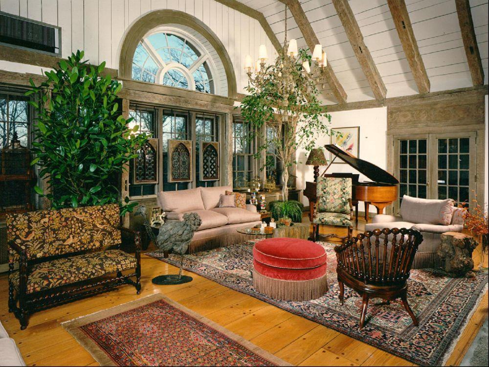 Дизайн дома в стиле эклектика